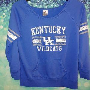 Kentucky wildcats sweatshirt size xL